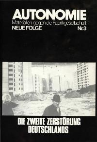 AUTONOMIE N.F. - Nr. 3